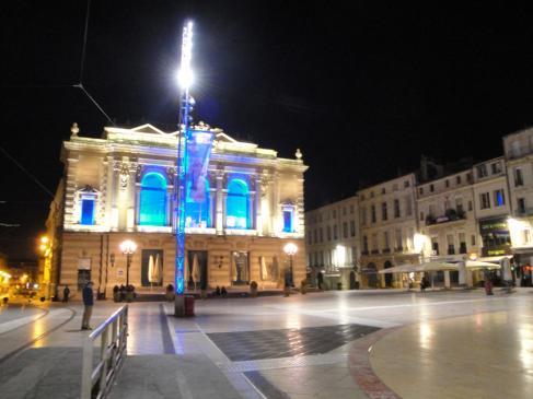 02.10.2009 Una imatge de la Place de la Comédie            Montpeller -  Jordi Bibià