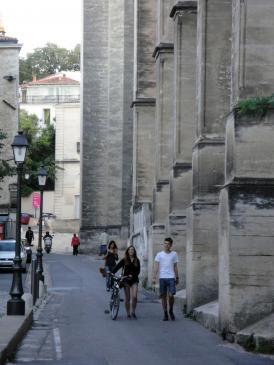 02.10.2009 Passeig al voltant Sant Pere Rue du Cardinal de Cabrières            Montpeller -  Jordi Bibià