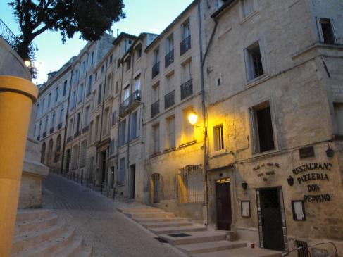 02.10.2009 El fantàstic casc antic. A prop de l'església de Sant Pere  Montpeller -  Jordi Bibià