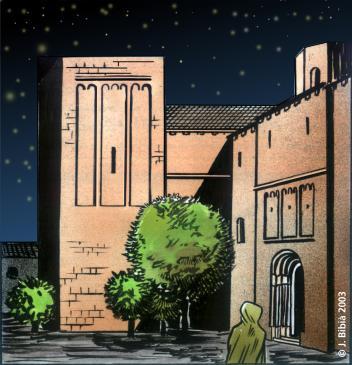 18.08.1998 La Seu d'Urgell. Vinyeta del projecte en còmic