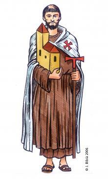 23.04.2004 Sant Pere de Fenollet. Un dels casos més espectaculars de doble