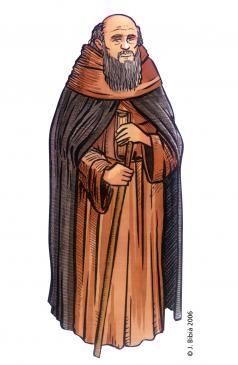 23.04.2004 Ramon de Casals, bisbe de la Val d'Aran (Font: J. Ventura).                         -  Jordi Bibià