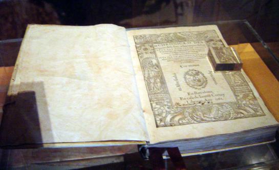 24.11.2008 La <em>Crònica </em>de Ramon Muntaner (Peralada 1265-Eivissa 1336). En Ramon Soldevila ens diu: