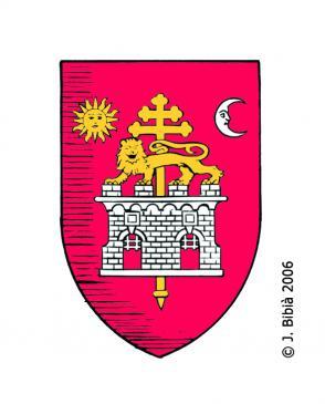 20.10.2006 Una altra creu de dos braços a l'escut de la ciutat d'Albi.             Albi -  Jordi Bibià