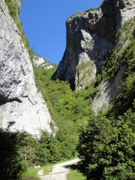 24.06.2009 Anant en direcció a Montsegur pel Camí dels Bons Homes.           Les Gorges de la Frau -  Jordi Bibià