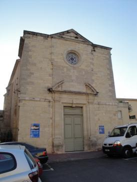 28.08.2009 Església dels Hospitalers.            Narbona -  Jordi Bibià