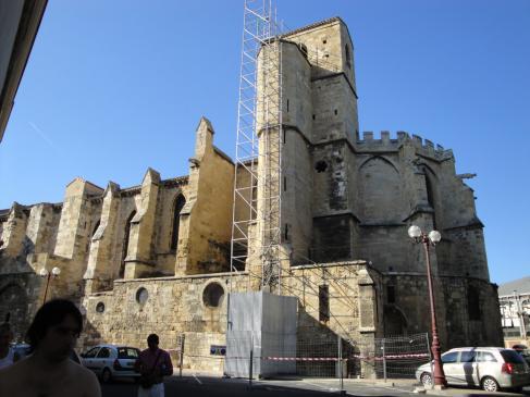 28.08.2009 <strong>Museu lapidari </strong>a l'església de Nostra Senyora de Morguià. S. XII.            Narbona -  Jordi Bibià