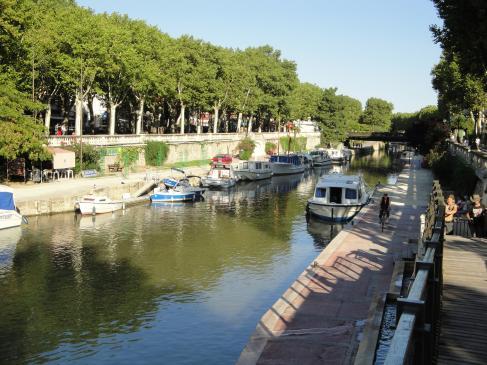 28.08.2009 Altra vista del canal de la Robina.            Narbona -  Jordi Bibià