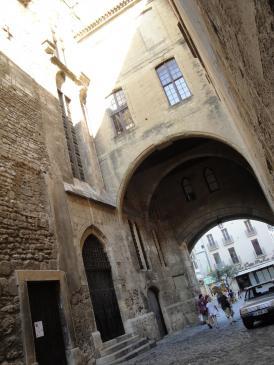 28.08.2009 Passatge de l'Àncora. Palau dels Arquebisbes.            Narbona -  Jordi Bibià