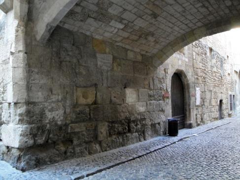 28.08.2009  L'arcada del <strong>Palau Vell</strong>.           Narbona -  Jordi Bibià