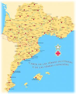 29.01.2011 Mapa d'Occitània, Catalunya, València i les Illes avui.  -  Jordi Bibià