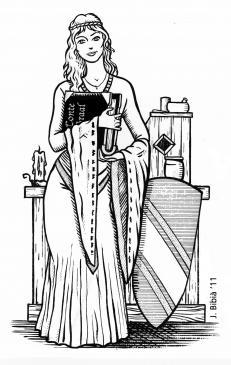 31.01.2011 maria de Xampanya, filla d'Elionor d'Aquitània, mecenes de Chrètien de Troies i d'altres trobadors. Impulsora i transmissora de l'amor cortès.               -  Jordi Bibià