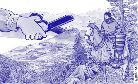 01.02.2011 Tractat de Corbeil on la Corona Catalano-aragonesa renuncia a la majoria de les seves possessions occitanes     -  Jordi Bibià