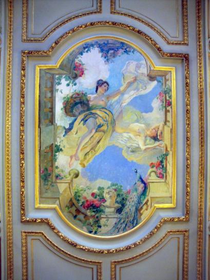 06.09.2011 Una de les nombroses pintures al sostre del Capitoli de Tolosa  Tolosa del Llenguadoc -  Jordi Bibià