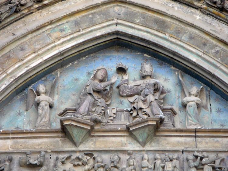 17.06.2012 Timpà de la Basílica de Santa Maria (Gòtic)  Morella -  Jordi Bibià