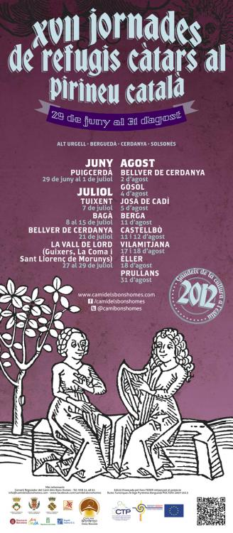 XVII jornades de refugis càtars al Pirineu català