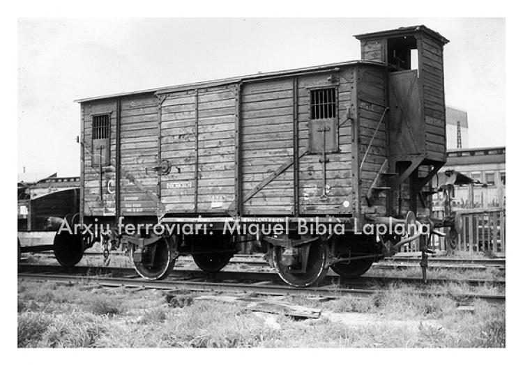 Vagons de càrrega/Vagones de carga