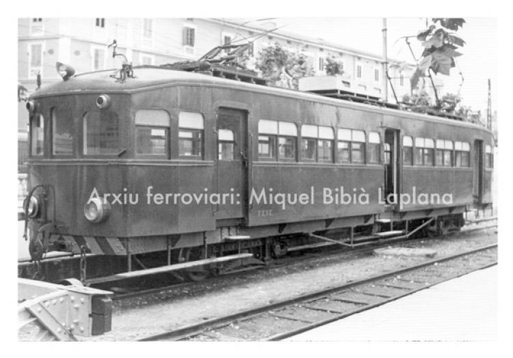 14.10.2013 FEVE.  València. 1971. -  Miquel Bibià Laplana