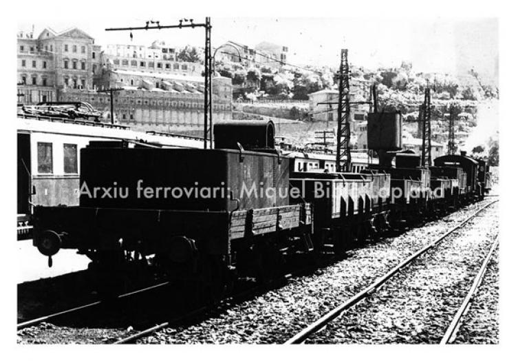 19.10.2013 El tren de l'aigua de Manresa.  Manresa. -  Miquel Bibià Laplana