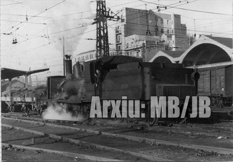 30.11.-0001 Una Verraco fent maniobres  Estació del Nord de Barcelona -  Miquel Bibià