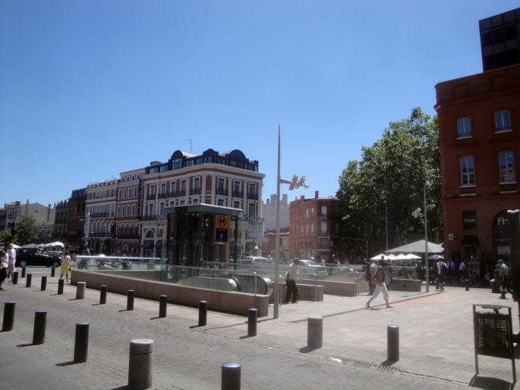 02.07.2013 Un altre aspecte de la ciutat-  Tolosa del Llenguadoc. -  Jordi Bibià