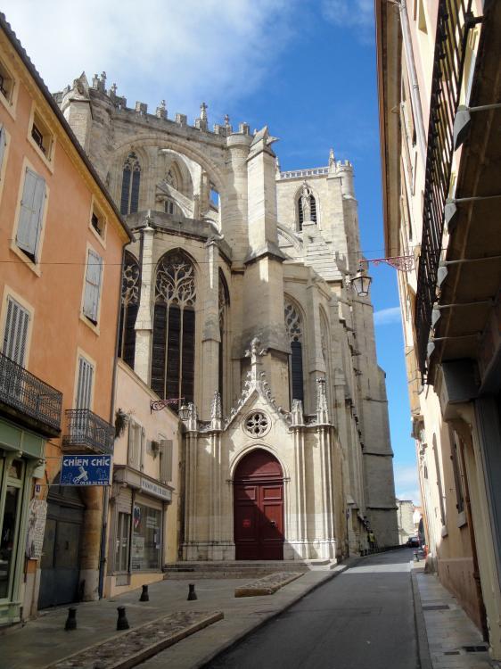 28.08.2010 Església de Sant Just i Pastor.  Narbona -  Jordi Bibià