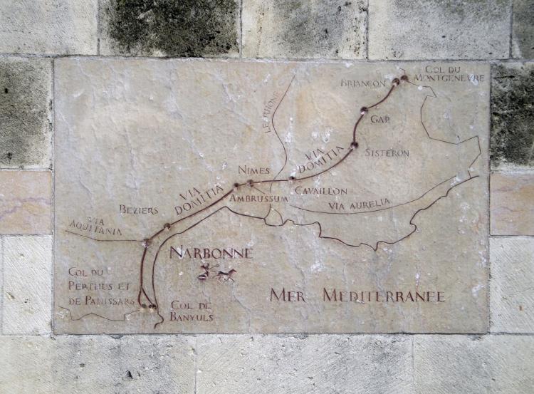 28.08.2010 El traçat de la via Domitia a la Septimània  Narbona -  Jordi Bibià