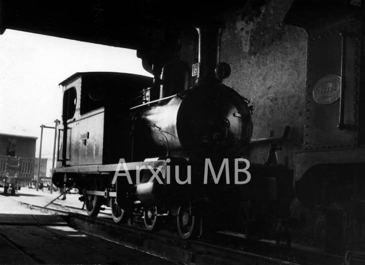 30.11.-0001 Lo trenet de Tortosa.  Dipòsit. -  Miquel Bibià