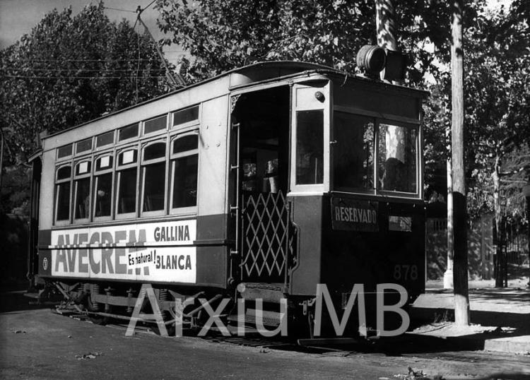 22.09.2014 El 876. Tranvía de Pedralbes.  Barcelona. -  Miquel Bibià