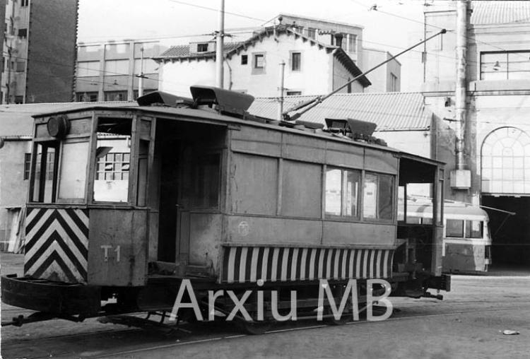 22.09.2014 Tramvia auxiliar.  Barcelona. -  Miquel Bibià