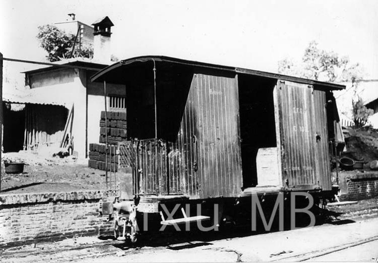 24.09.2014 El tren de Sant Feliu de Guíxols. Vagó d'equipatges.  -  Miquel Bibià