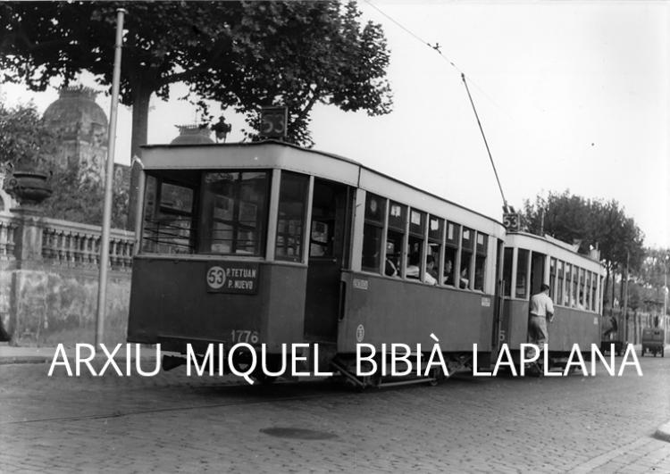 04.10.2014 El 1776.  Barcelona. Passeig Lluís Companys. -  Miquel Bibià