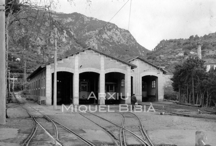 12.10.2014 Sòller. Cotxeres dels automotors i tramvies.  Palma de Mallorca. -  Miquel Bibià Laplana