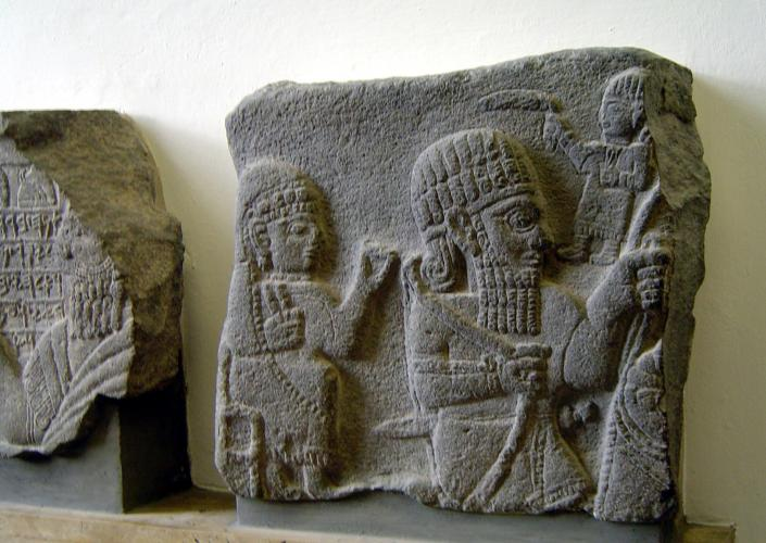 21.09.2016 Fragments d'esteles funeràries mesopotàmiques.  Pergamonmuseum.Berlín. -  Jordi Bibià Balada