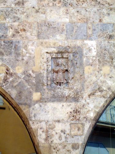 22.05.2007 L'heràldica de Perpinyà.  Antic edifici de la Llotja. -  Jordi Bibià Balada