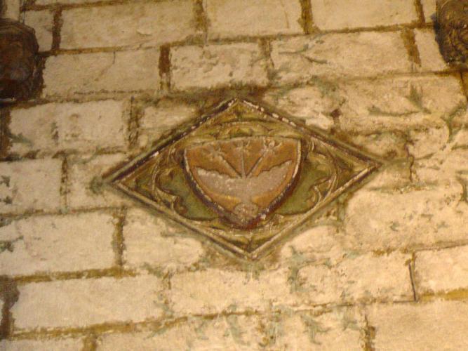 25.04.2005 Escut dels Cardona.  Claustre de la catedral de Barcelona. -  Jordi Bibià Balada