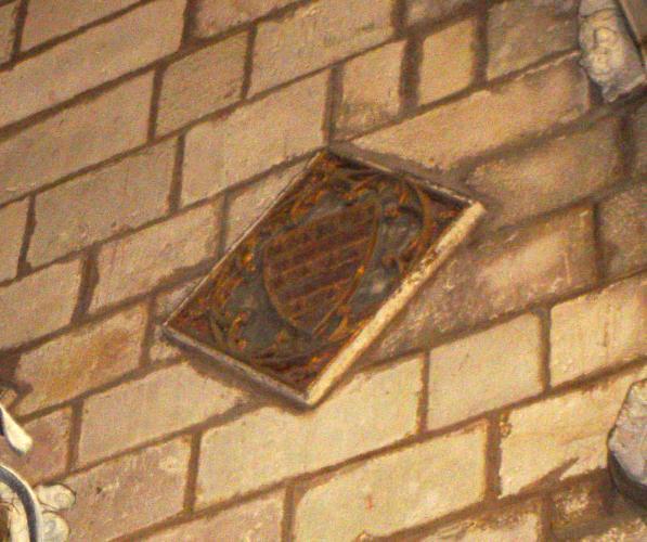 25.04.2005 Escut dels Barberà.  Claustre de la catedral de Barcelona. -  Jordi Bibià Balada