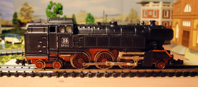 05.04.2017 Locomotora vapor 66 de la DB. Ibertren 3N  -  Jordi Bibià