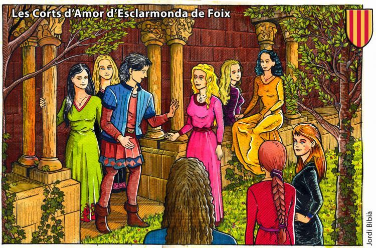 29.04.2017 Les corts d'Amor  Castell de Foix -  Jordi Bibià