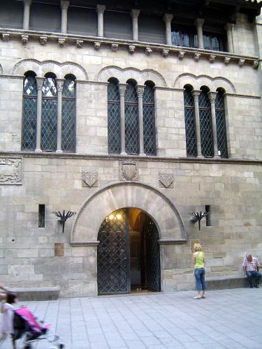 06.05.2017 La Paeria. Abans anomenada: la casa dels Sanaüja.  Lleida. -  Jordi Bibià