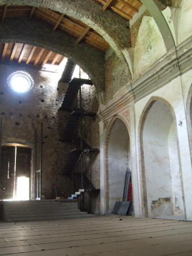 18.05.2017 Interior de l'església.  Castellbò -  Jordi Bibià