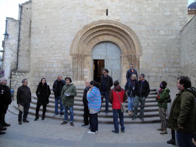 27.11.2017 Visita guiada per l'Ajuntament a l'església.  Sant Mateu. -  Jordi Bibià