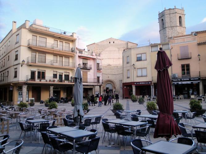 27.11.2017 Plaça Major.  Sant Mateu. -  Jordi Bibià
