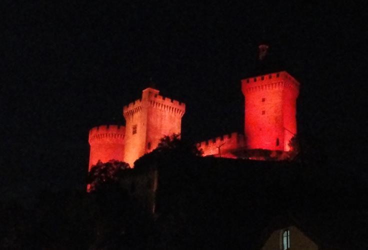 29.07.2018 El castell iluminat  -  Jordi Bibià