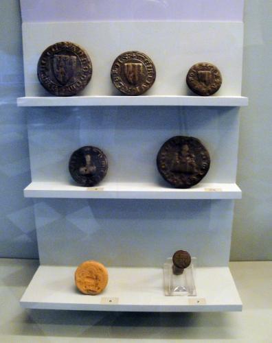 29.07.2018 Peces, mesures, monedes, segells...  Museu castell de Foix. -  Jordi Bibià