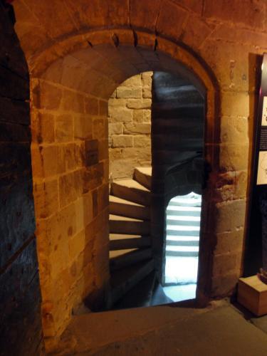 29.07.2018 Escala torre.  Castell Foix. -  Jordi Bibià