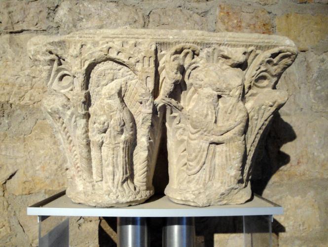 29.07.2018 Capitell procedent de Sant Volusià.  Museu castell de Foix. -  Jordi Bibià