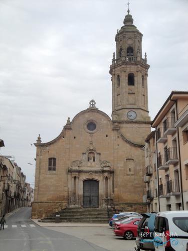 22.04.2019 Església barroca de Santa Maria de Gràcia. Altrament coneguda com la catedral de les Garrigues.  -  Jordi Bibià