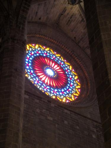 26.12.2019 Una de les rosasses-  Catedral de Palma. -  Jordi Bibià