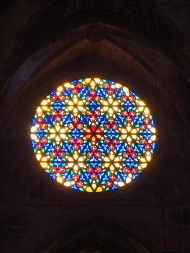 26.12.2019 Una de les rossases  Catedral de Palma -  Autor
